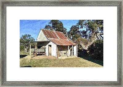 Taken By Time Framed Print by J L Hodges