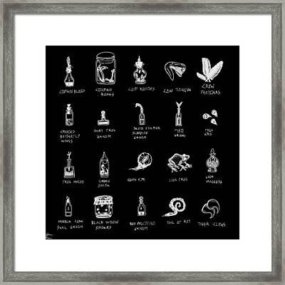 Taken From Animals Framed Print