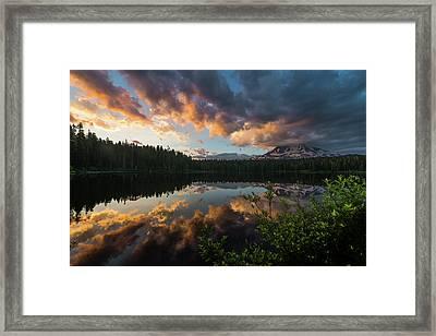 Takhlakh Lake Framed Print by Alex Kleist