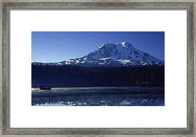 Takhlakh Lake Framed Print by Todd Kreuter