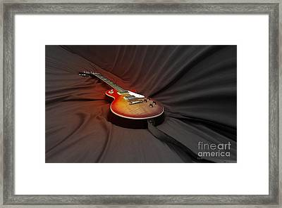 Taking A Break From My Hands Framed Print by Steven Digman