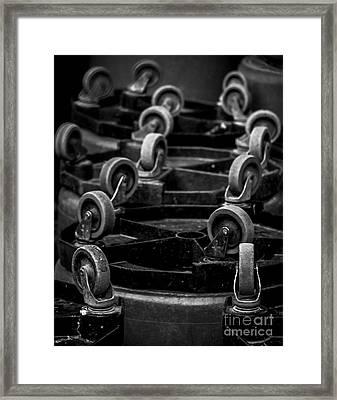 Taking A Break Framed Print by James Aiken