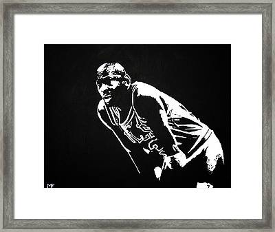 Taking A Breather Framed Print by Matthew Formeller