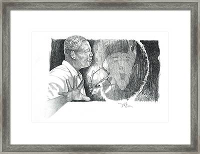 Taking A Stand Framed Print by Bob Salo