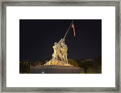 Taking A Stand Framed Print