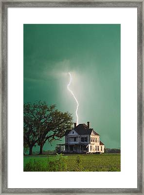 Taking Another Hit Framed Print