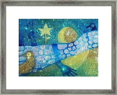 Taking Attendance Over The Apartheid Wall At Baia Mare Framed Print