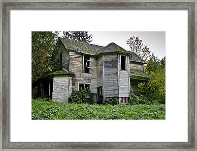 Taking Back Framed Print