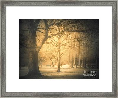 Taking Cover Framed Print by Tara Turner