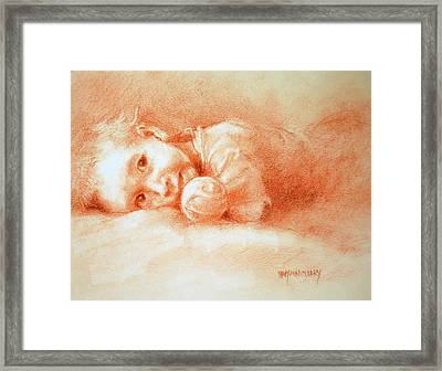 Taking Five Framed Print by MaryAnn Cleary