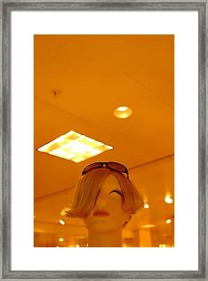 Taking Off Framed Print by Jez C Self