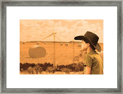 Taking Over  Framed Print by Cathy  Beharriell