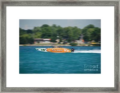 Talbot Offshore Racing Framed Print