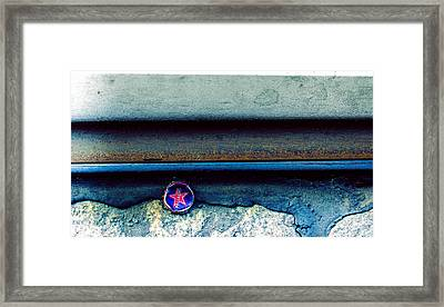 Tales Along The Tracks Framed Print by Cesare Bargiggia