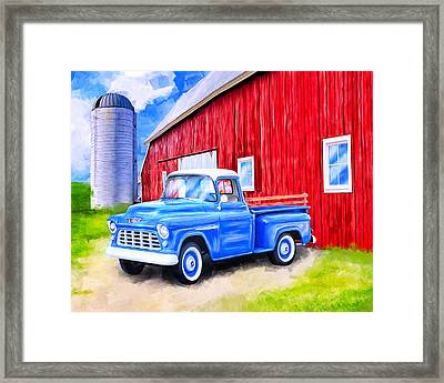Tales From The Farm Framed Print by Mark Tisdale