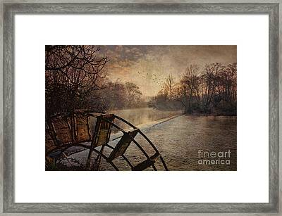 Tales From The Riverbank  II Framed Print by Robert Brown