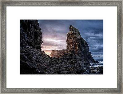 Talisker Bay Scotland - Isle Of Skye Framed Print by Matt Trimble