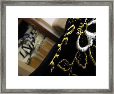 Talit Framed Print by Menucha Citron