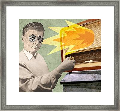Talk Radio Framed Print
