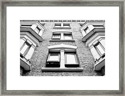 Tall Building Framed Print