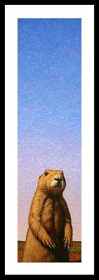 Prairie Dog Framed Prints