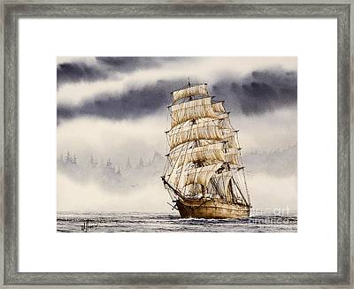 Tall Ship Adventure Framed Print by James Williamson