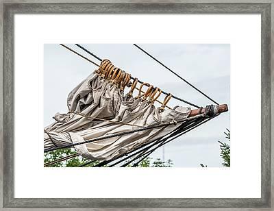Tall Ship Rigging Framed Print by Paul Freidlund