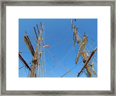 Tall Ship Series 16 Framed Print by Scott Hovind