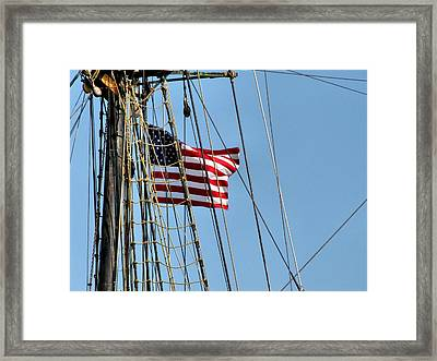 Tall Ship Series 3 Framed Print by Scott Hovind