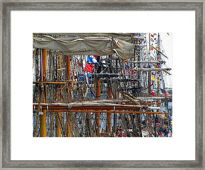 Tall Ship Series 4 Framed Print by Scott Hovind