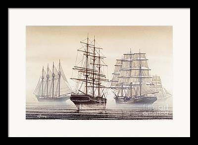 Tall Ship Image Framed Prints