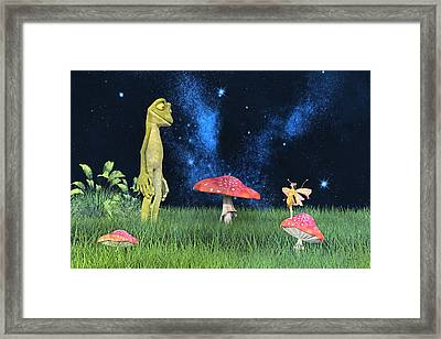 Tall Tales Framed Print by Betsy Knapp