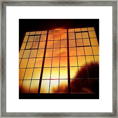 Tall Windows #1 Framed Print by Maxim Tzinman
