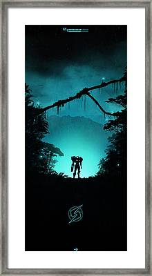Tallon Overworld Framed Print by Colin Morella