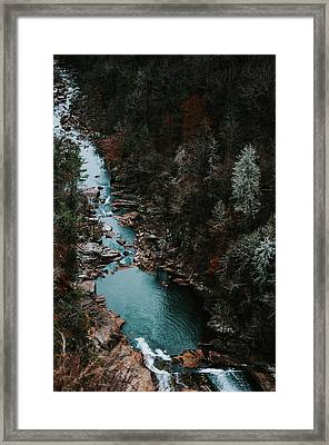 Tallulah Falls Georgia  Usa Framed Print by Jessica Furtney