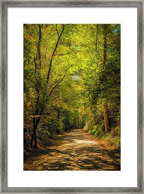 Tallulah Trail Framed Print