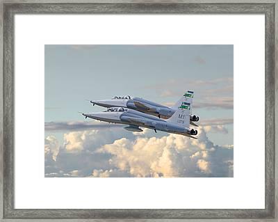 Talon T38 - Supersonic Trainer Framed Print
