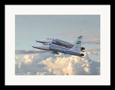 Trainer Aircraft Framed Prints