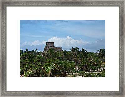 Talum Ruins 2 Framed Print by Douglas Barnett