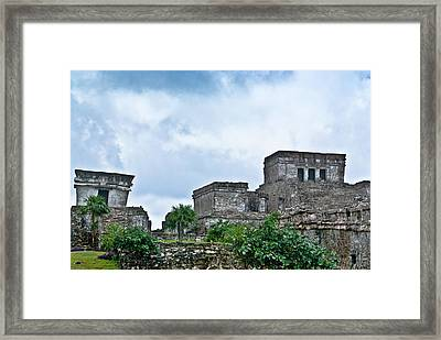 Talum Ruins 5 Framed Print by Douglas Barnett