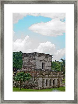 Talum Ruins 7 Framed Print by Douglas Barnett