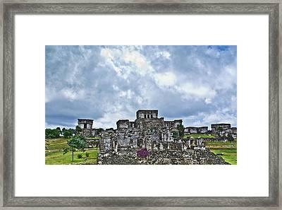 Talum Ruins 8 Framed Print by Douglas Barnett