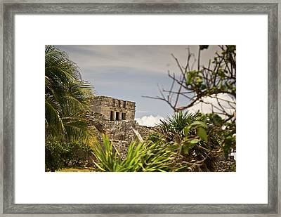 Talum Ruins 9 Framed Print by Douglas Barnett