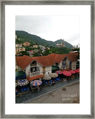 Tam Dao Beauty  Framed Print
