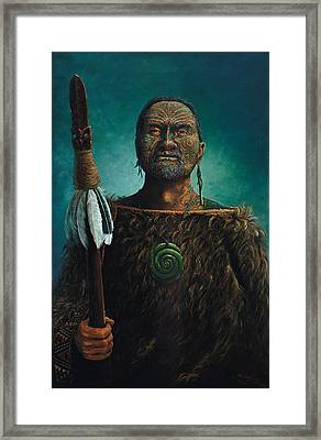 Tamaki Framed Print by Peter Jean Caley