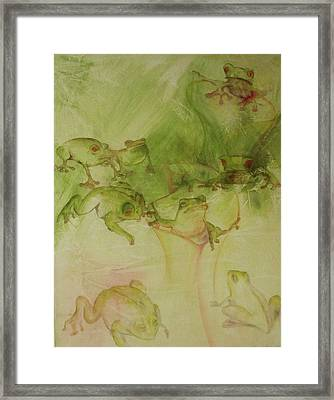 Tamalpais Spring Framed Print by Georgia Annwell