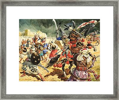 Tamerlane The Terrible Framed Print by CL Doughty