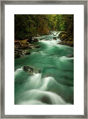 Tamihi Creek 2 Framed Print