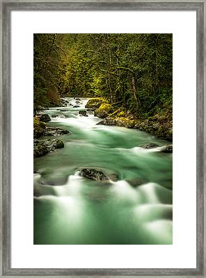 Tamihi Creek Framed Print