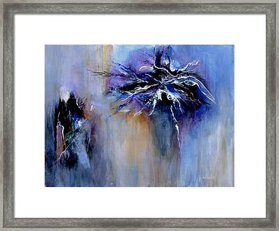 Taming The Blues Framed Print by Jim Whalen